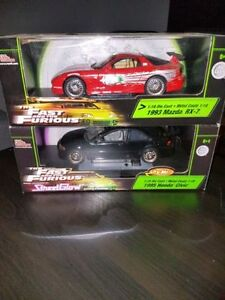 Fast and the Furious Diecast Cars 1:18 ERTL