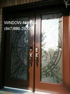 Wrought Door Iron Front  Custom