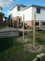 Post Hole, Fence and Deck Clients WANTED! New build or repairs