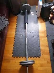 Workout Equipment 370lbs plate weights PLUS PLUS PLUS
