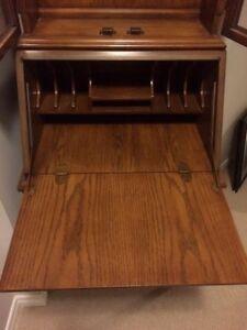 BRAEMORE vintage oak secretary desk Cambridge Kitchener Area image 3