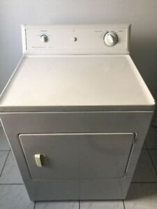 """Frigidaire White 27"""" top load electric dryer"""