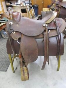 """16 1/2"""" Billy Cook Ranch Saddle"""