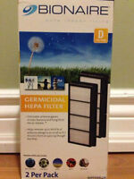 2-Pack of Bionaire 'D' Filters for Air Purifiers