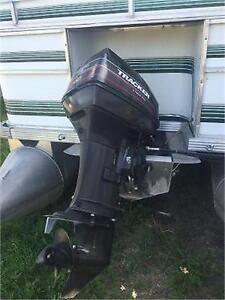 ***CHEAP CHEAP CHEAP*** 18' SUN PARTY PONTOON WITH 40HP MERC Peterborough Peterborough Area image 3