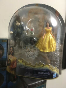 Beauty and the Beast figure set with Little Golden Book!