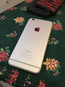 iPhone 6 64Gb Silver Unlocked Mint Condition + Otterbox