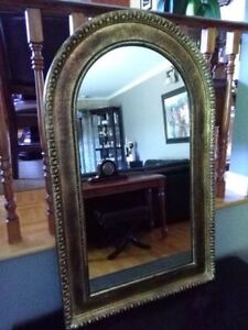 Bombay Arched Wood Framed Mirror Beautiful!
