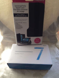 """New Open Box Acer Iconia Tablet 7.0""""+New Aluratek Tablet Case"""