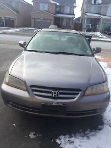 2002 Honda Accord Sedan No Rust Drives Great $1000