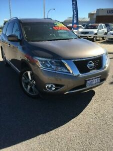 2014 Nissan Pathfinder R52 MY15 Ti X-tronic 4WD Bronze 1 Speed Constant Variable Wagon Beresford Geraldton City Preview