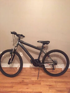 "24"" Black speed mountain bike $30 ONLY"