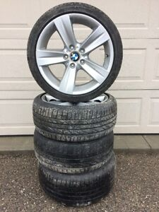 BMW Staggered Rims Oem Excellent Condition
