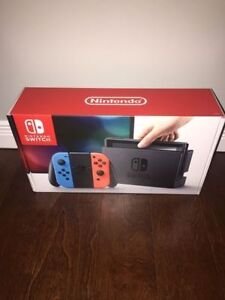 BRAND NEW NINTENDO SWITCH NEON