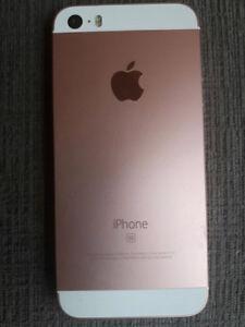 Iphone SE- 16 GB- Rose Gold $250