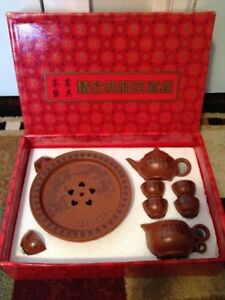 Chinese Tea Set for 6 - Brand New, in Decorative Box