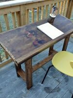 Custom Rustic Desks and Drafting Tables by Ruztikcharms