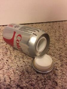 Diet Coke stash can