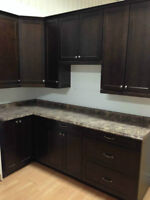 ** BRAND NEW KITCHEN CABINETS WITH COUNTERTOP **