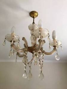 Chandelier lights for sale Double Bay Eastern Suburbs Preview