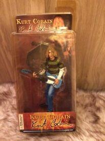 Kurt Cobain collectable figurine