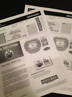 Oilers VS Stars Tickets this Friday ***REDUCED***