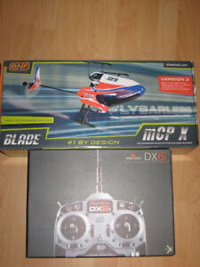 Blade McpX and Spektrum DX6i remote RC Helicopter