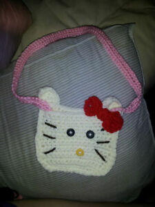 miss kiddy purse and other crocheted items all sizes