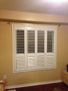 Zebra blinds and shutters
