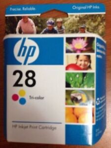 HP Inkjet 28 Tri-Color Cartridge- NEW UNOPENED