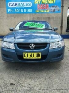 2005 Holden Commodore VZ Acclaim Blue 4 Speed Automatic Sedan Kogarah Rockdale Area Preview
