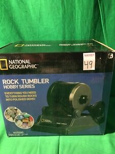 - NATIONAL GEOGRAPHIC ROCK TUMBLER HOBBY SERIES