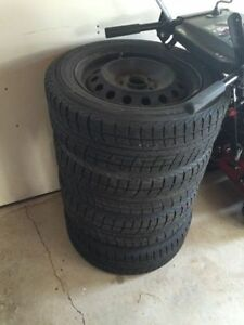 205/60/16 winter tires with sensored rims