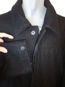 NEW 2X TALL Mens Wool Peacoat PEA JACKET XXL 50 52 BLUE BLACK OLD NAVY XXL  // BIG AND TALL //boyfriend gift husband man