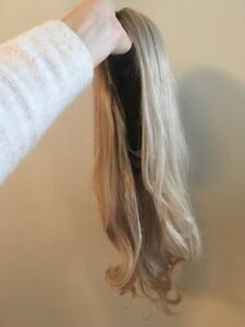 "18"" BLONDE REMY HUMAN HAIR FULL LACE WIG"