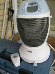 x              Honeywell heater with remote control