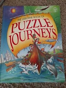 Usborne Puzzle Journeys - 3 in 1 Puzzle Book