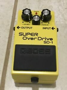 Boss Super Over Drive SD-1 for sale