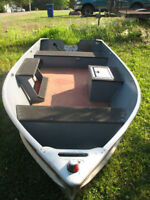wc14 foot Lund boat