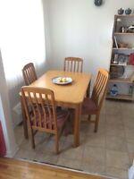 eNSEMBLE SALLE A MANGER / DINING ROOM KIT