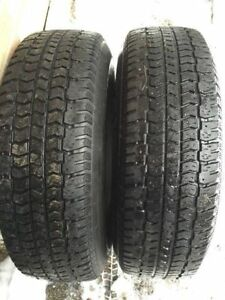 Snow Tire's on Rims 2 205/70/15 & 2 205/75/15