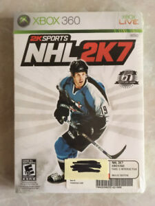 XBOX 360 2K Sports NHL 2K7 Game - Brand New!!!
