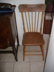 Antique press back dining chairs - several to choose from! Kitchener / Waterloo Kitchener Area image 4