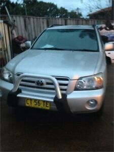2004 Toyota Kluger MCU28R CVX (4x4) Silver 5 Speed Automatic Wagon Wentworthville Parramatta Area Preview