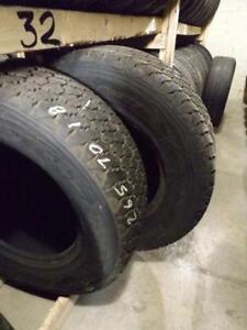 265/70R18 Goodyear Wranglers - 1000's of Used Tires In Stock