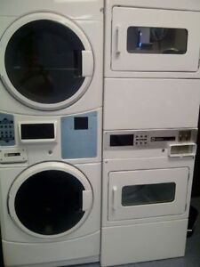 Coin Operated Washer Dryer Stacked Commercial