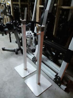 Pair of Commercial Grade Squat Rack Stand