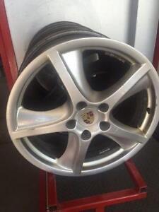 """Porsche Cayenne 20"""" wheels"""