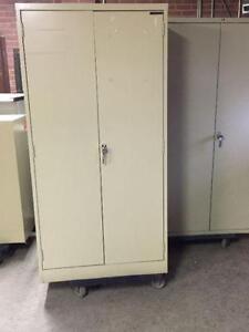 Storage Cabinets, all metal 2 Door