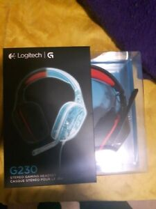 New barely use Logitech g230 gaming headset